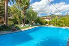 Poolblick Idyllische Finca Mallorca Pool 8 Personen PM 3023
