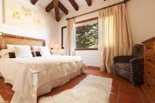 Schlafzimmer Finca Mallorca mit Pool für 8 Personen PM 3023