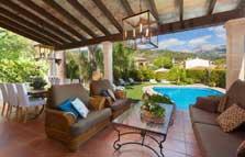 Terrasse Romantische Finca Mallorca mit Pool für 8 Personen PM 3023