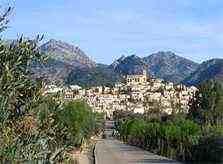 Blick auf Selva Finca Mallorca mit Pool 8-10 Personen PM 302