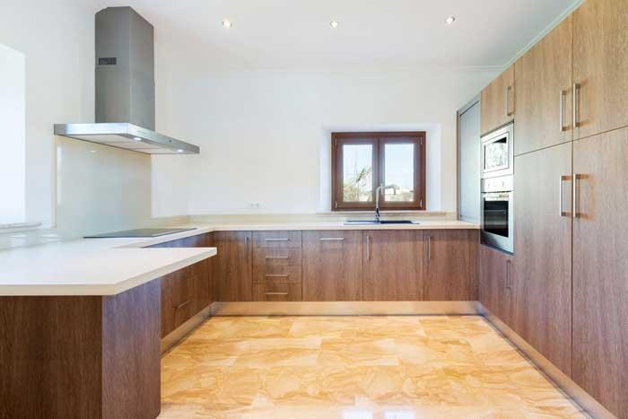 Moderne Küche Finca Mallorca mit Pool  6 Personen Klimaanlage PM 3067