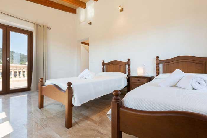 Schlafzimmer 4 Finca Mallorca  für 6 Personen Norden Mallorca Lloseta PM 3067