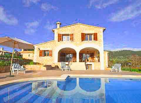 Pool und Berge Finca Mallorca Norden für 10 Personen PM 316