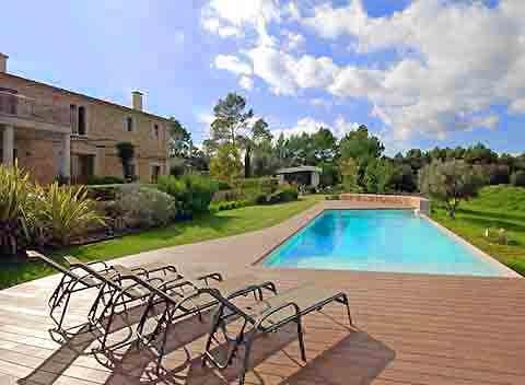 Großer Pool Luxus-Finca Mallorca Norden für 10 - 12 Personen PM 320