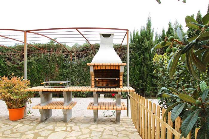Barbecue Ferienfinca Mallorca PM 3425 für 4 Personen Pollenca