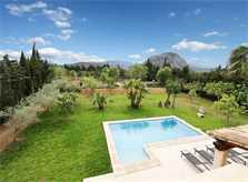 Blick in die Landschaft  Finca Mallorca PM 3425 für 4 Personen Pollenca