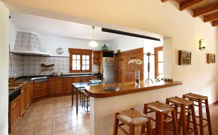 Küche Finca Mallorca PM 3425 für 4 Personen Pollenca