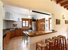 Küche 5 Finca Mallorca PM 3425 für 4 Personen Pollenca
