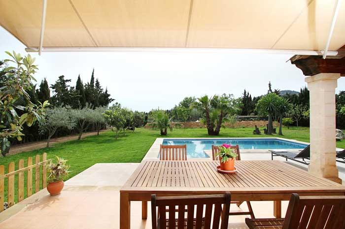 Terrasse 3 Finca Mallorca PM 3425 für 4 Personen Pollenca