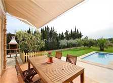 Terrasse 4 Finca Mallorca PM 3425 für 4 Personen Pollenca