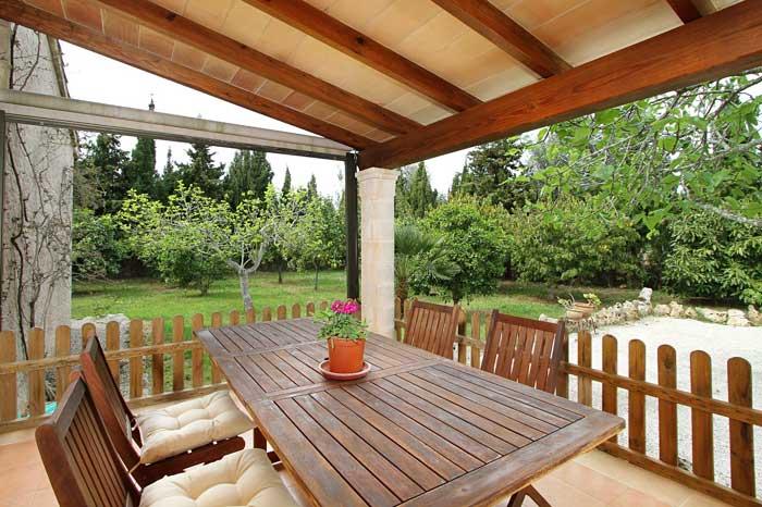 Terrasse 5 Finca Mallorca PM 3425 für 4 Personen Pollenca