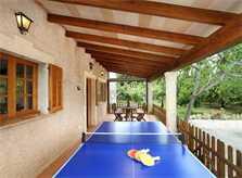 Tischtennisplatte Finca Mallorca PM 3425 für 4 Personen Pollenca