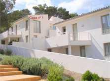 Hausansicht Ferienhaus Mallorca mit Pool Strandnah Cala Molins WLAN PM 3491