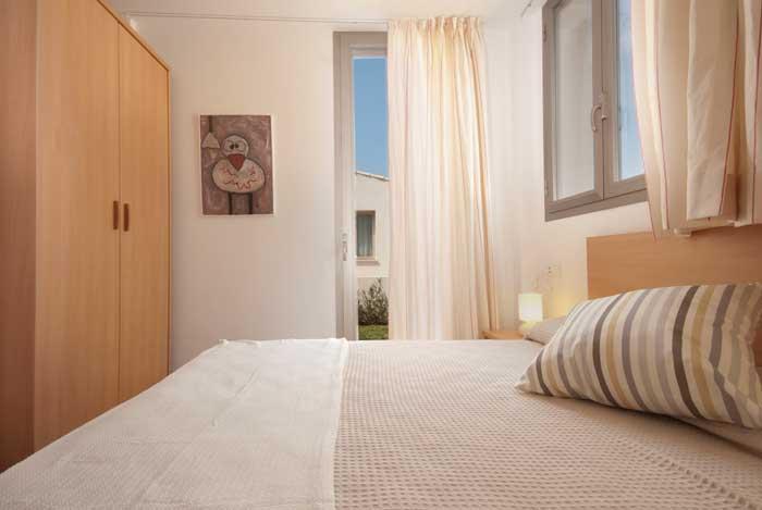 Schlafzimmer 2 Ferienhaus Mallorca mit Pool und Strandnähe 6 Personen PM 3491