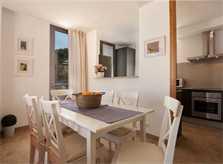 Essplatz Ferienhaus Mallorca in Strandnähe Klimaanlage Pool 6 Personen PM 3491