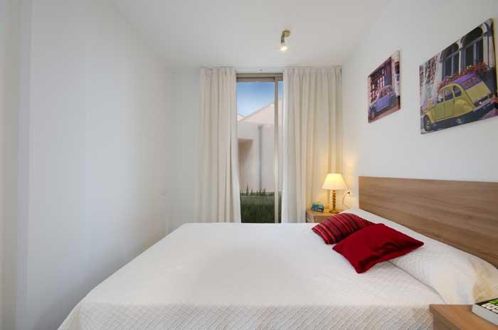 Schlafzimmer Ferienhaus Mallorca in Strandnähe mit Pool PM 3492