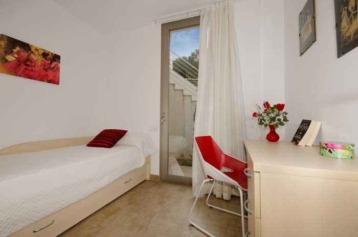 Schlafraum Ferienhaus Mallorca in Strandnähe mit Pool PM 3492