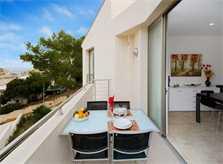 Terrasse Ferienhaus Mallorca in Strandnähe mit Pool PM 3492