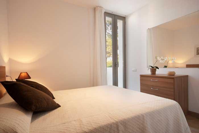 Schlafzimmer 4 Ferienhaus Mallorca Norden Pollensa Cala San Vicente Strandnähe PM 3493
