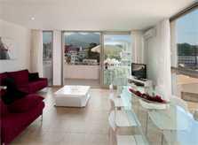 Wohnbereich Ferienhaus Mallorca Pool Strandnähe PM 3493