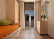 Schlafzimmer 2 Ferienhaus Mallorca am Strand WLAN Pool PM 3494