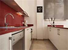 Moderne Küche Ferienhaus Mallorca am Strand Pool 6 Personen PM 3494