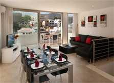 Essbereich Ferienhaus Mallorca am Strand Cala Molins Cala San Vicente Internet PM 3494