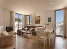 Wohn/Essbereich Ferienhaus Mallorca mit Pool Strandnaehe 6 Personen Klimaanlage PM 3495