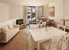 Wohnbereich Ferienhaus Mallorca Strandnaehe 6 Personen Pool Klimaanlage PM 3495