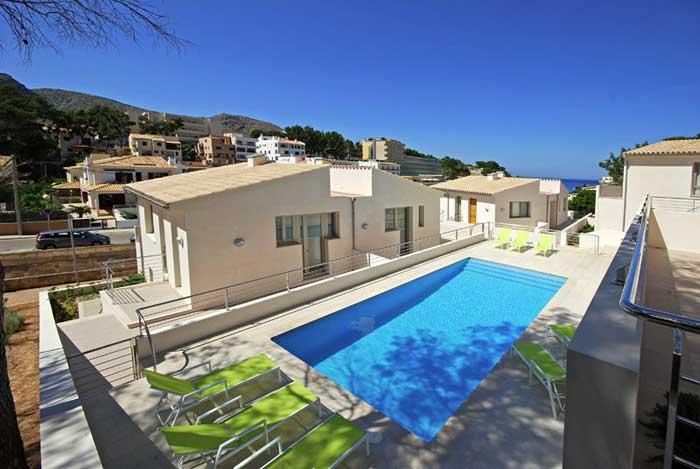 Poolblick Ferienhaus Mallorca am Strand Pool 6 Personen PM 3494