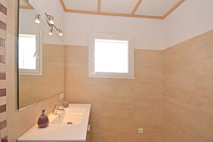 modernes Badezimmer Finca Mallorca mit Pool PM 3709