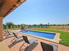 Poolblick Finca Mallorca mit Pool PM 3709