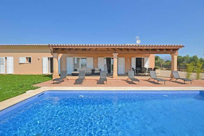 Poolblick 4 Finca Mallorca mit Internet PM 3709