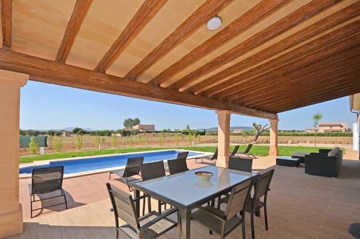 Terrasse 3 Finca Mallorca mit Pool PM 3709