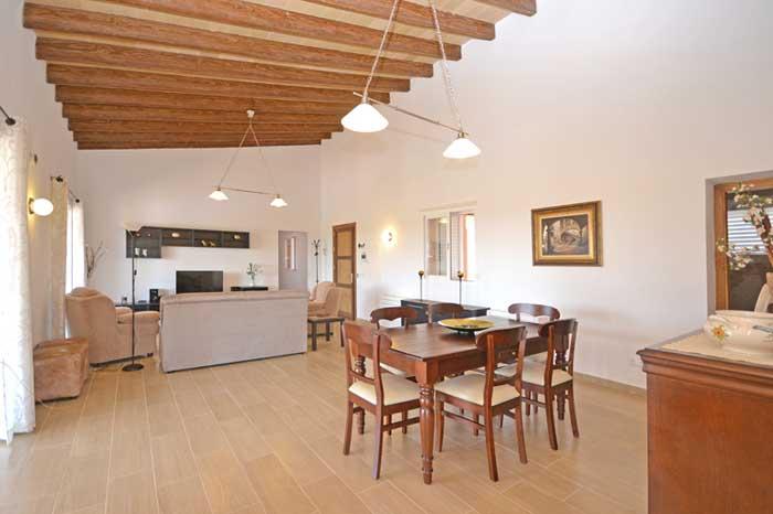 Wohnraum 2 Finca Mallorca mit Pool PM 3709