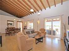 Wohnraum 4 Finca Mallorca mit Pool PM 3709
