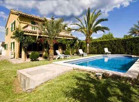 Pool und Haus Finca Mallorca 10 Personen PM 3725