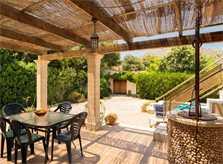 Terrasse 2 der Finca Mallorca 8 Personen Pool PM 3798