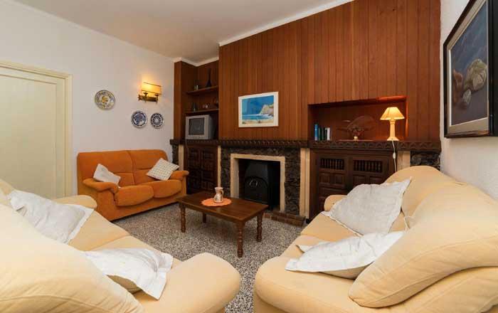 Wohnraum Finca Mallorca 8 Personen Pool PM 3798