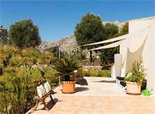Garten Finca Mallorca mit Pool PM 3812