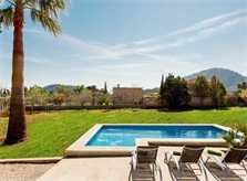 Poolblick Finca Mallorca Pollensa PM 3812