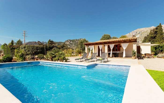 Pool und Finca 3 Ferienhaus Mallorca für 2 bis 3 Personen PM 3812