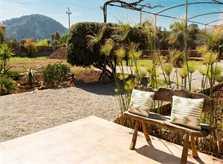 Terrasse 5 Finca Mallorca mit Pool PM 3812