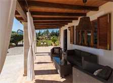 Terrasse 4 Finca Mallorca mit Pool PM 3812