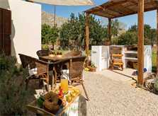 Terrasse 3 Finca Mallorca mit Pool PM 3812