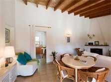 Wohnraum Finca Mallorca mit Pool PM 3812