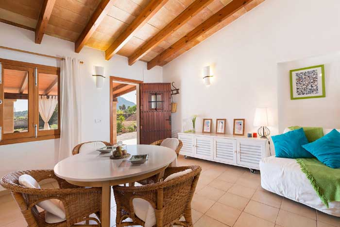 Wohnraum 3 Finca Mallorca mit Pool PM 3812