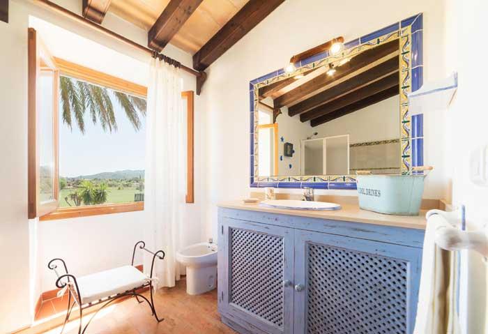Bad Finca Mallorca mit Pool für 6 Personen PM 3886