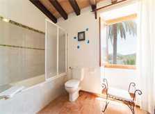 Bad 3 Finca Mallorca mit Pool für 6 Personen PM 3886