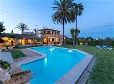 Poolblick Finca Mallorca Pollensa für 6 Personen PM 3886